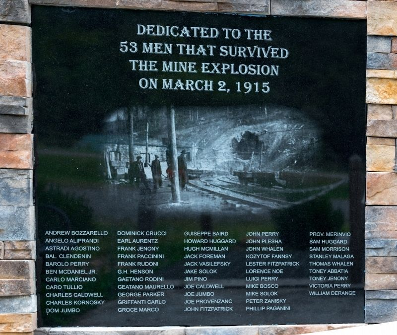 Image result for layland mine disaster historical marker