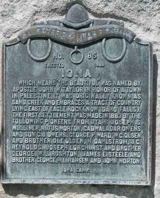 Iona Marker image. Click for full size.