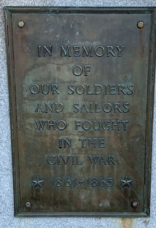 St. Albans Civil War Memorial image. Click for full size.