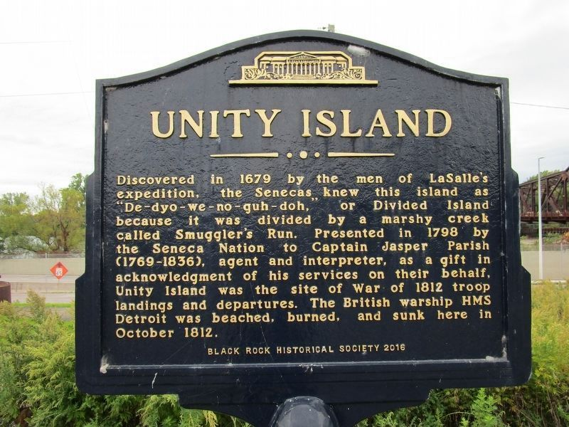 Unity Island Marker image. Click for full size.