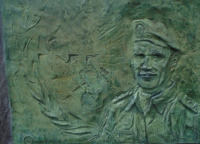 Colonel Patrick J. Quinlan Sculpture image. Click for full size.