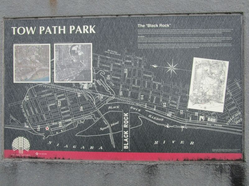 Tow Path Park Marker image. Click for full size.