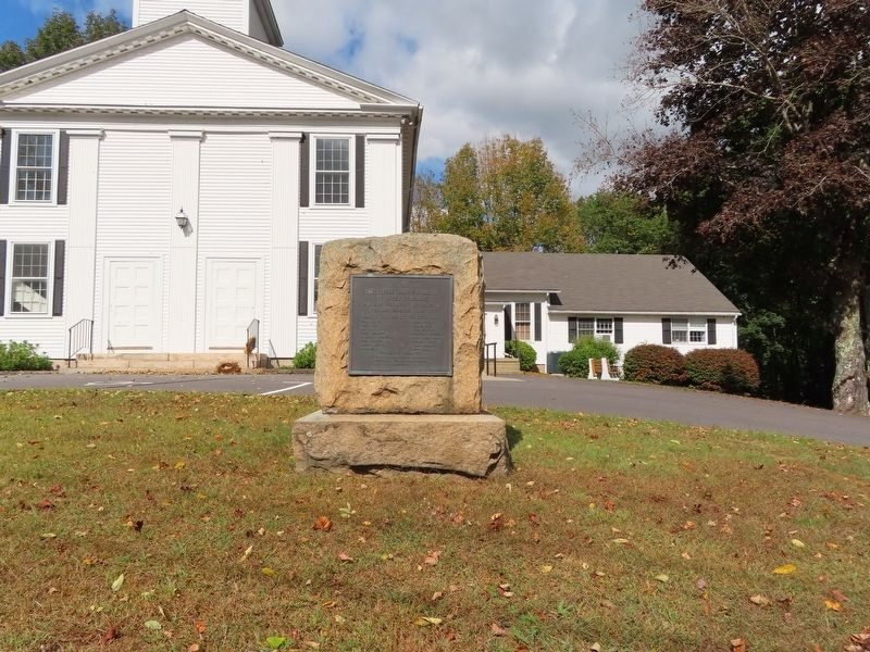 Revolutionary Soldiers of Ancient Pachaug Marker image. Click for full size.