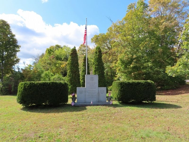 Voluntown Veterans Memorial image. Click for full size.