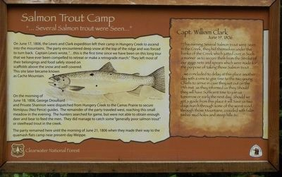 Salmon Trout Camp Marker image. Click for full size.
