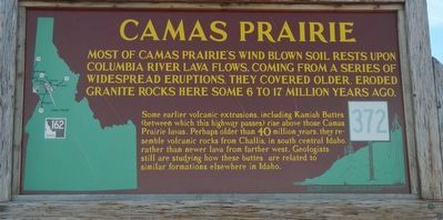 Camas Prairie Marker image. Click for full size.