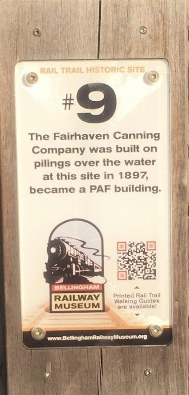 Fairhaven Canning Company Marker image. Click for full size.