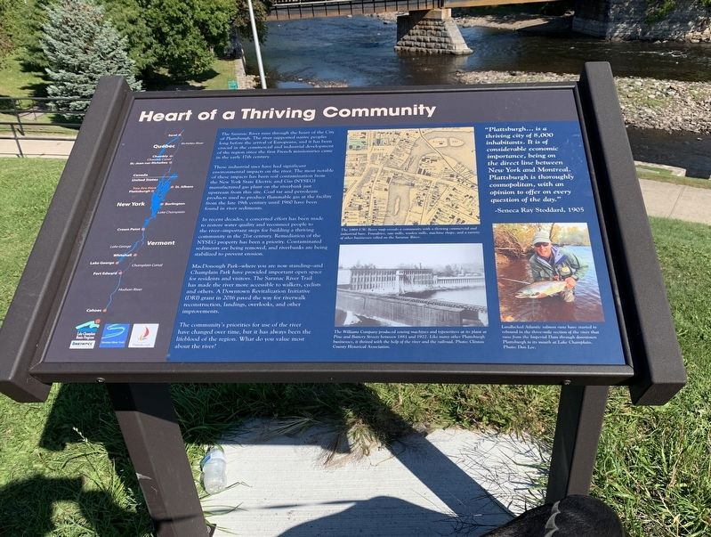 Heart of a Thriving Community Marker image. Click for full size.