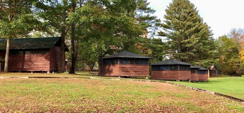 Camp Farnsworth Cabins image. Click for full size.