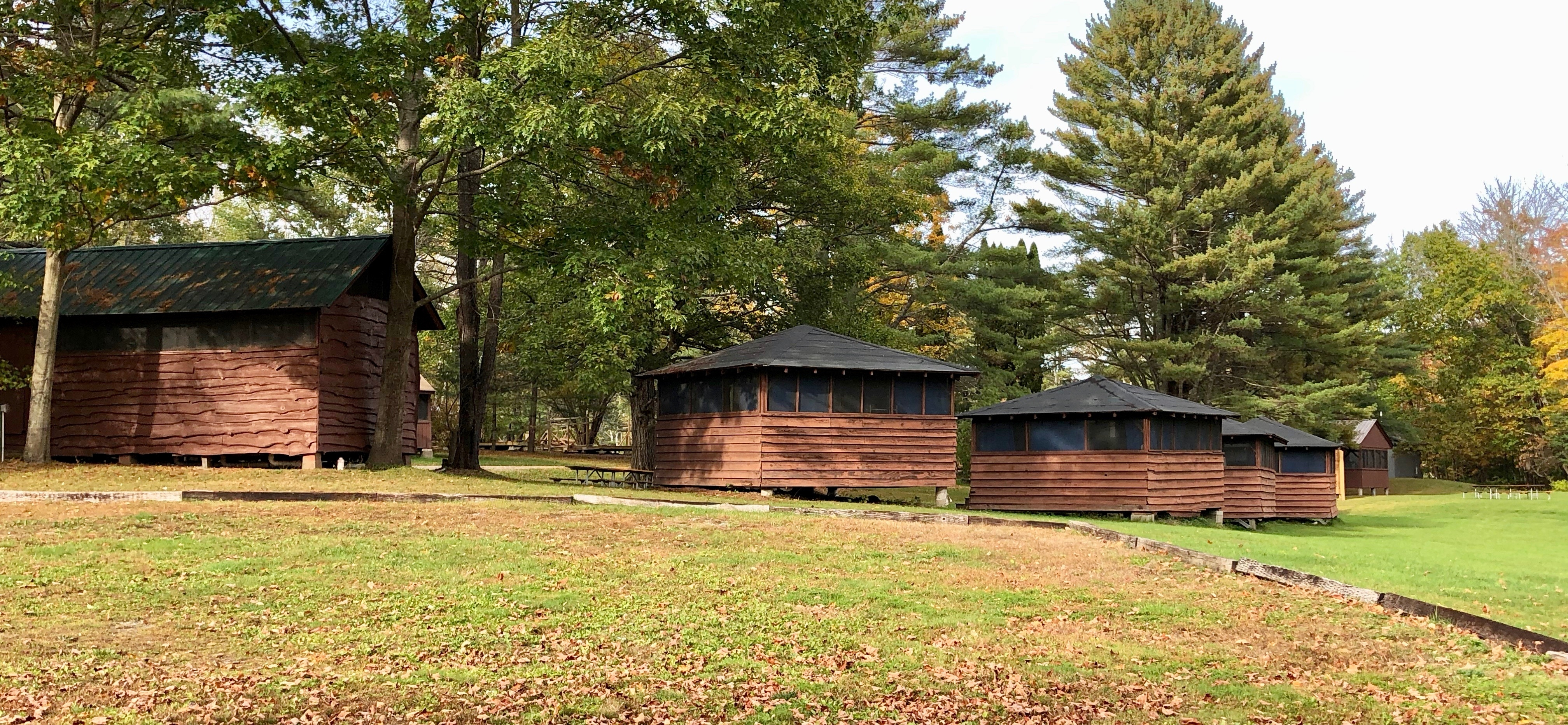 Camp Farnsworth Cabins