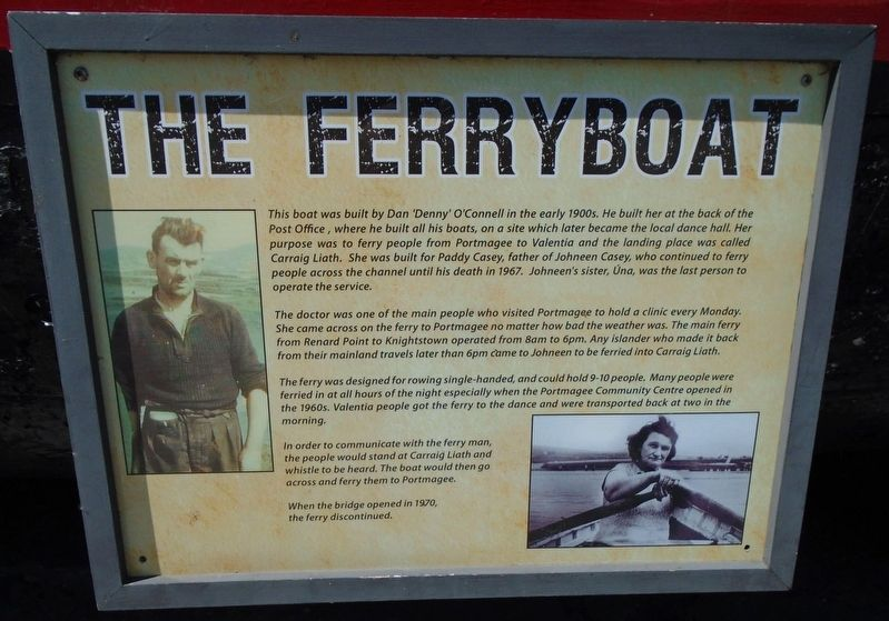 The Ferryboat Marker image. Click for full size.