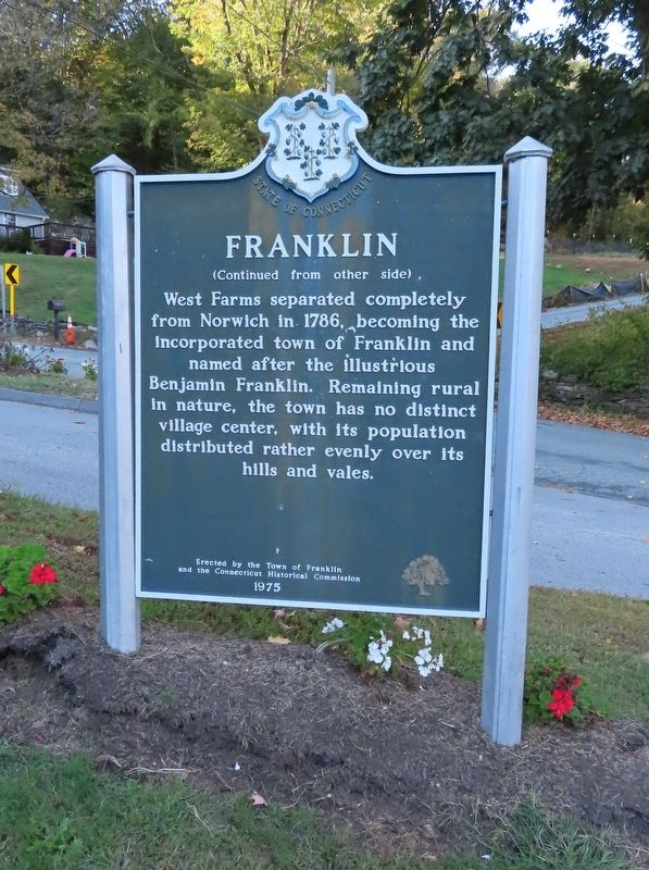 Franklin Marker image. Click for full size.
