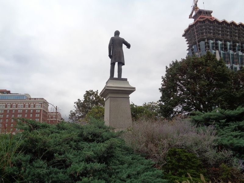 Frank P. Blair, Jr. Statue image. Click for full size.