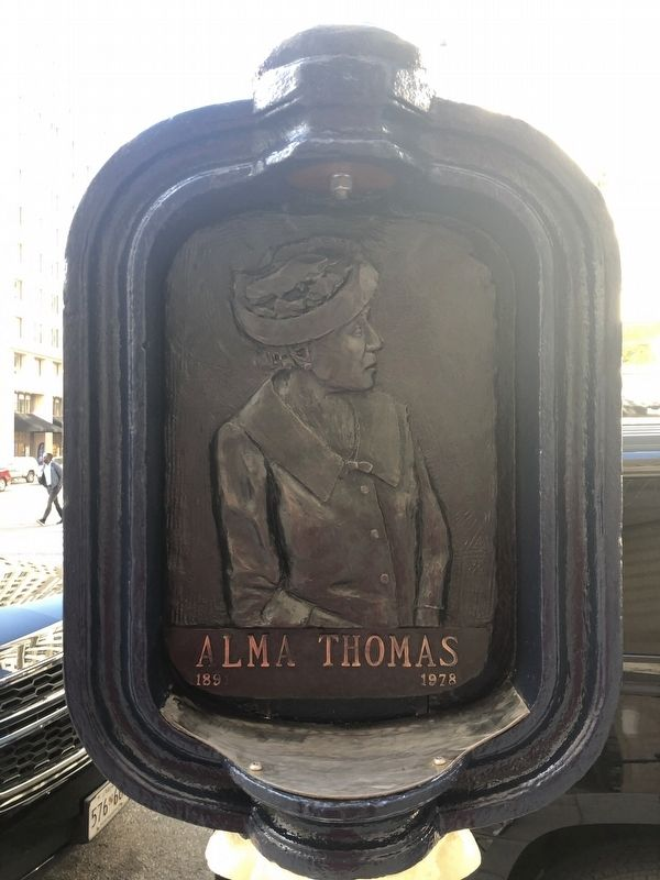 Alma Thomas Marker image. Click for full size.