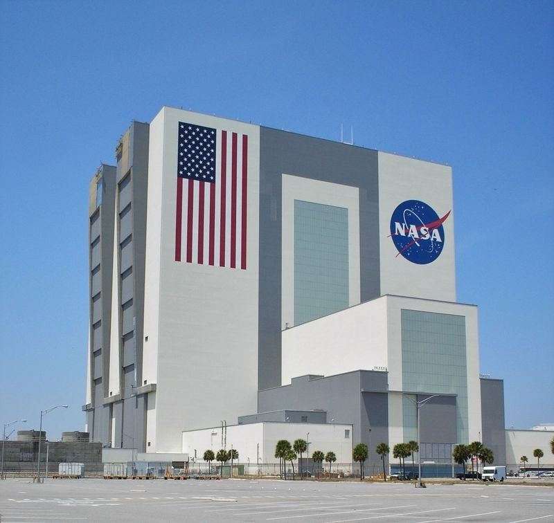 NASA Vehicle Assembly Building (VAB) image. Click for full size.
