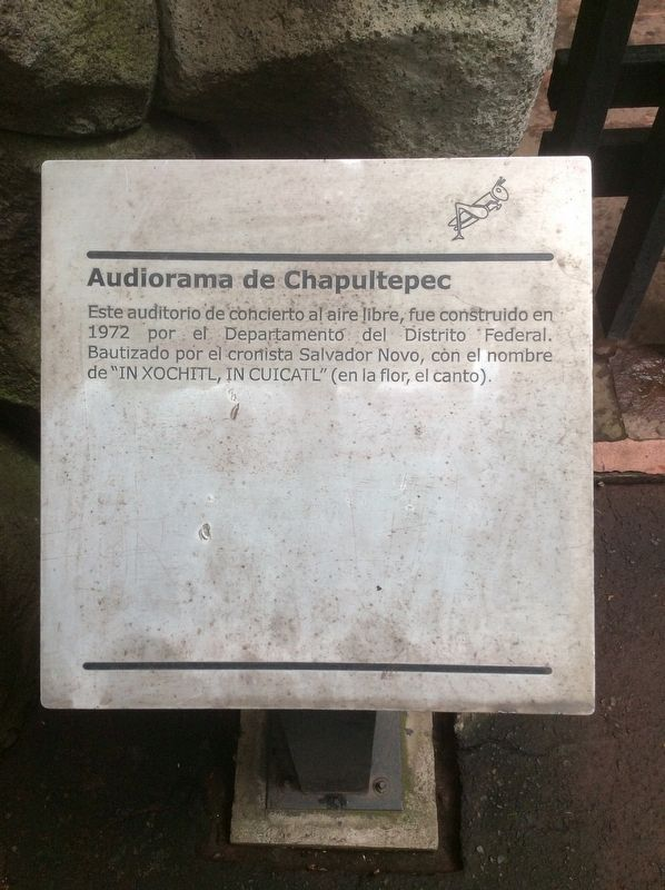 The Chapultepec Audiorama Marker image. Click for full size.