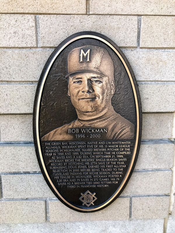 Bob Wickman Marker image. Click for full size.