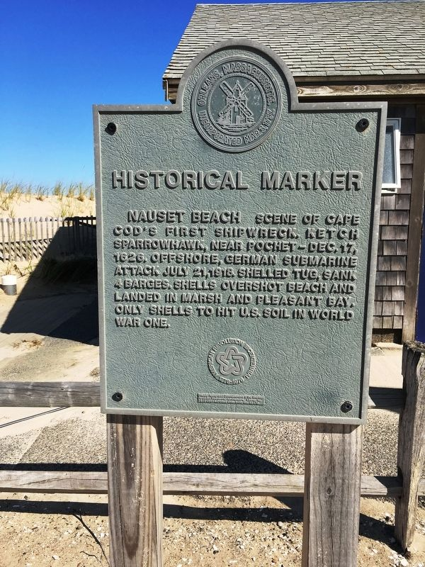 Nauset Beach Marker image. Click for full size.