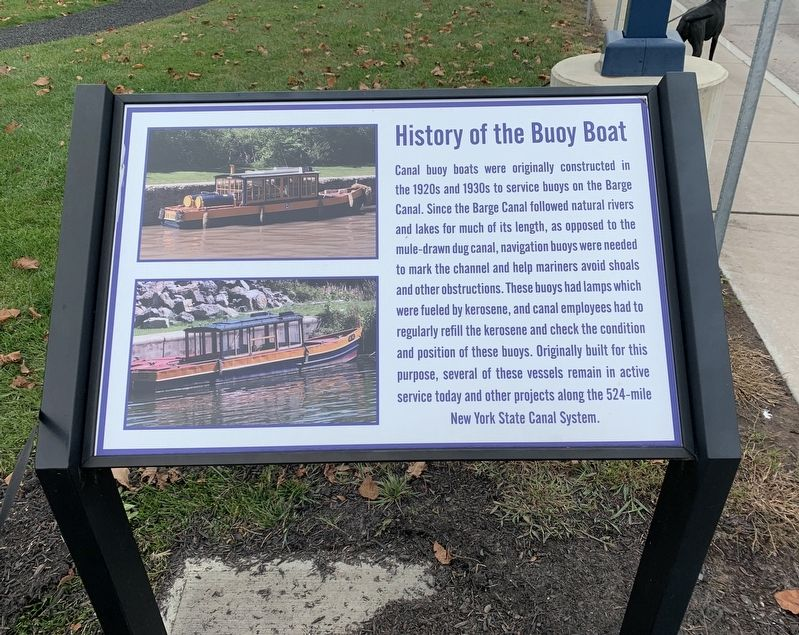 History of the Buoy Boat Marker image. Click for full size.