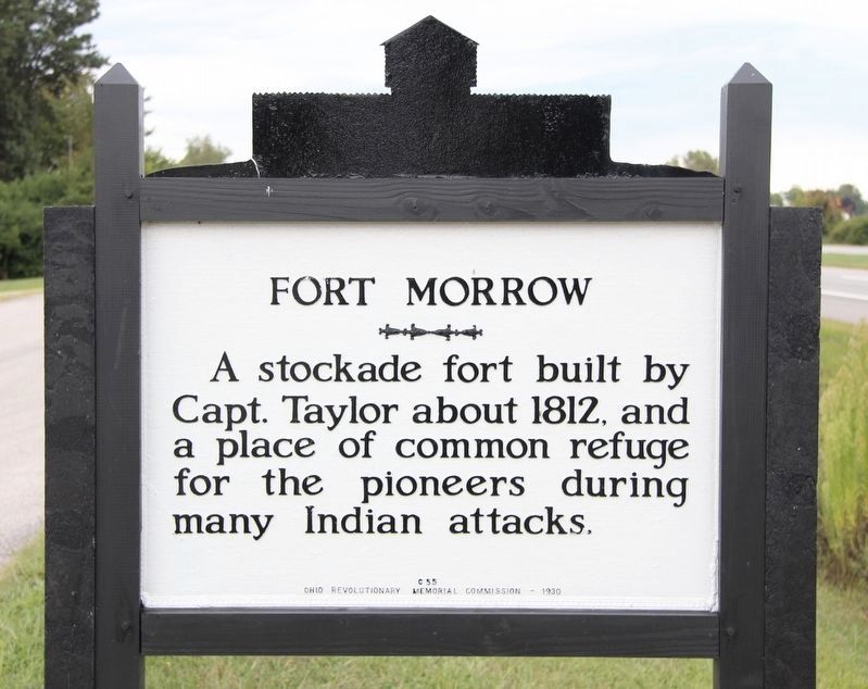 Fort Morrow Marker image. Click for full size.