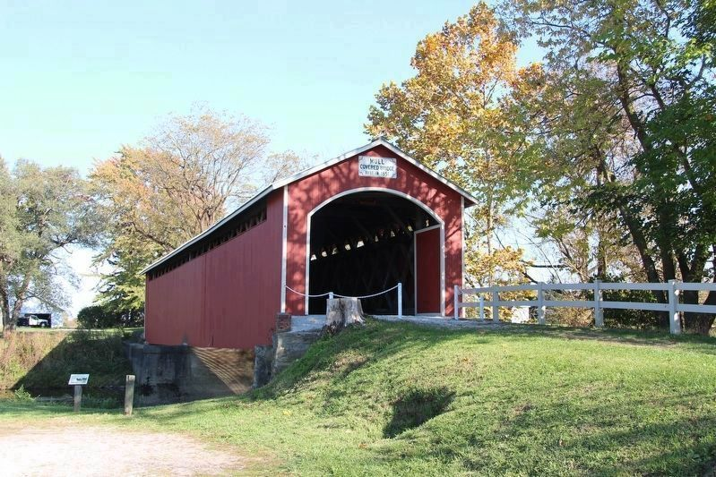 Mull Covered Bridge image. Click for full size.