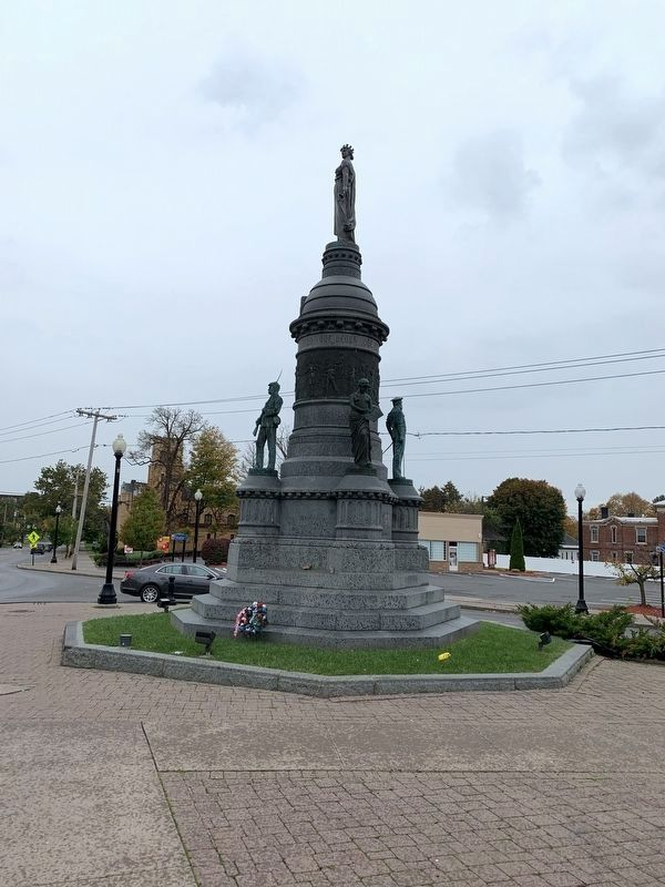 Utica Civil War Memorial image. Click for full size.