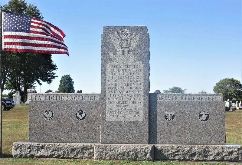 Union Township Veterans Memorial image. Click for full size.