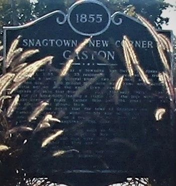 Snagtown ~ New Corner Marker image. Click for full size.