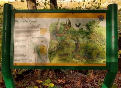 Big Darby Creek Marker image. Click for full size.