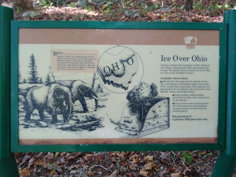 Ice Over Ohio Marker image. Click for full size.