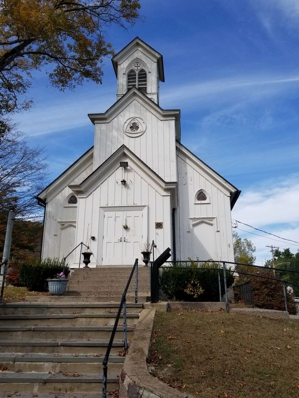 Hibernia Methodist Episcopal Church image. Click for full size.