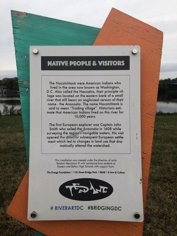Native People & Visitors Marker image. Click for full size.