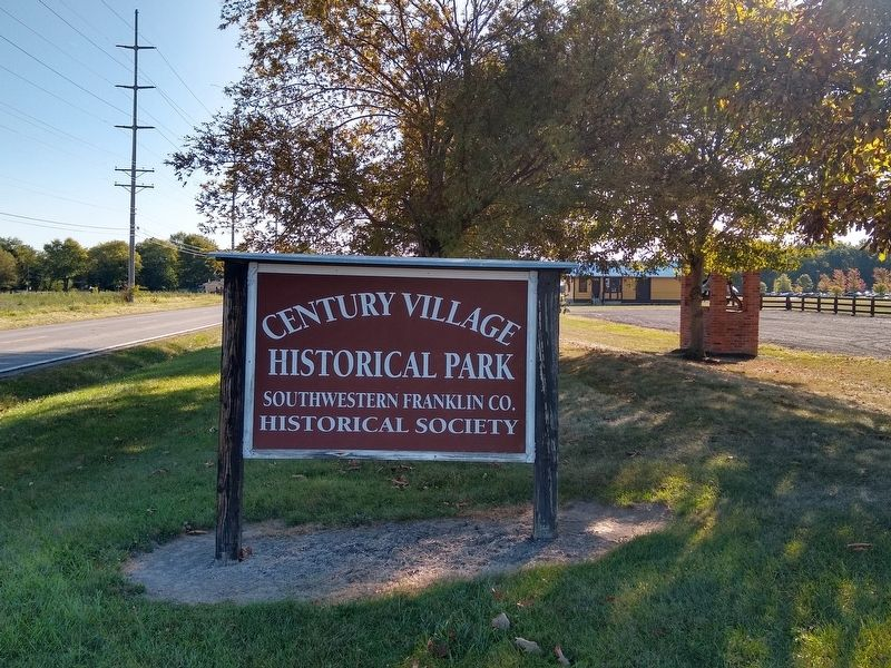 Century Village Historical Park Sign image. Click for full size.