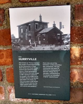 Hurryville Marker image. Click for full size.