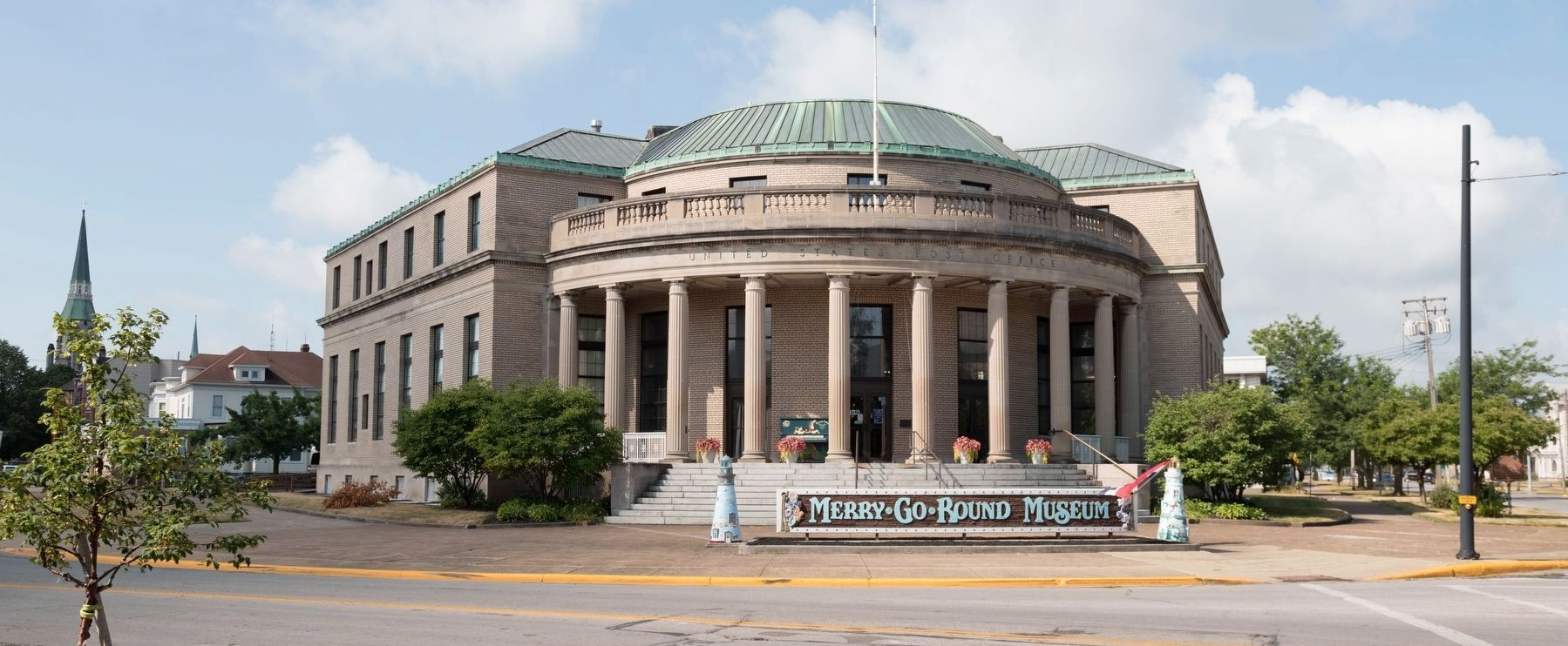 Old Sandusky Post Office, Now the Merry-Go-Round Museum image. Click for full size.