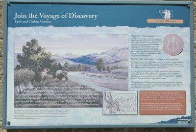 Join the Voyage of Discovery Marker image. Click for full size.