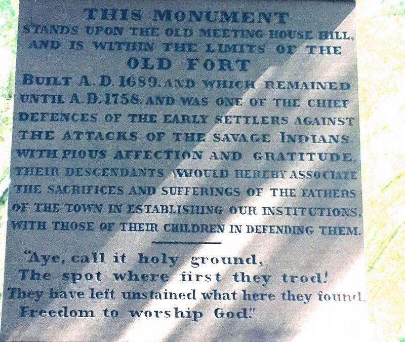 Monument Detail: South Face: image. Click for full size.
