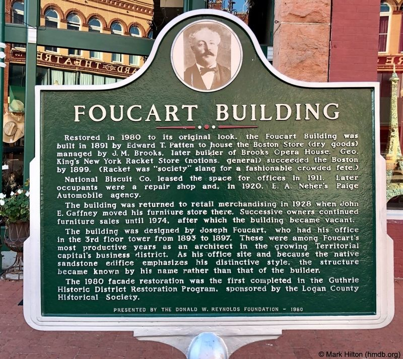 Foucart Building Marker image. Click for full size.
