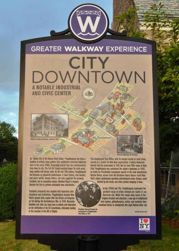 City Downtown Marker image. Click for full size.