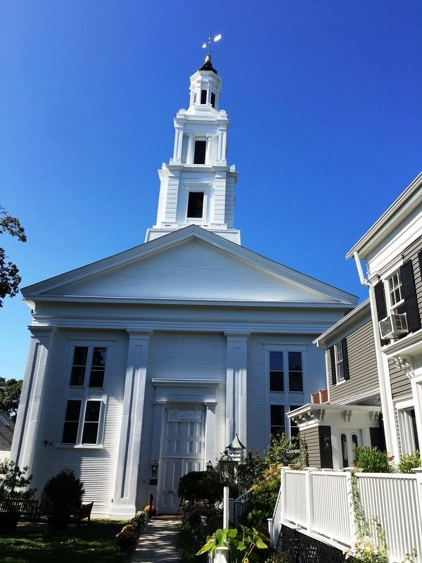 Universalist Meeting House of Provincetown image. Click for full size.