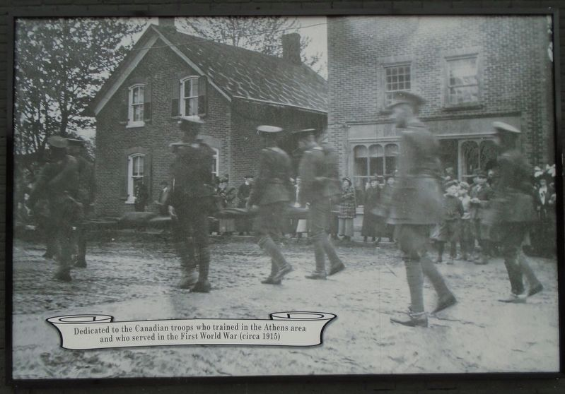 First World War Memorial image. Click for full size.