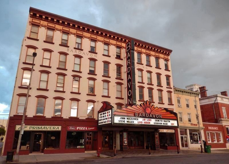 Bardavon Opera House (<i>New York's oldest continuously operating entertainment venue</i>) image. Click for full size.