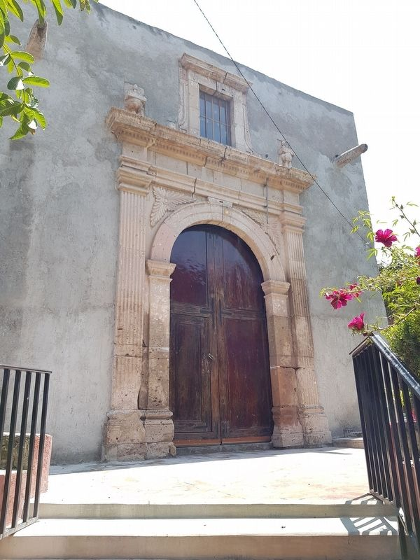The front entryway to the Church of San Antonio image. Click for full size.