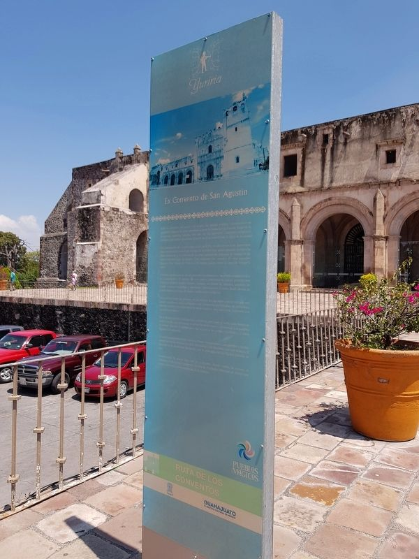 Former Convent of San Agustín Marker image. Click for full size.