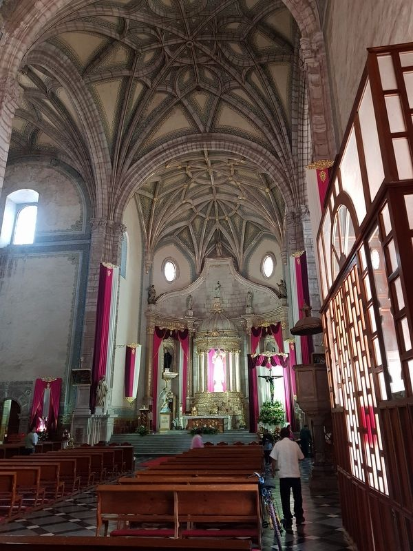 The altar at the Former Convent of San Agustín image. Click for full size.
