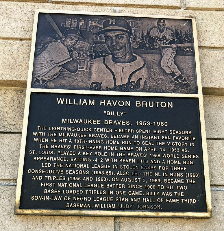 William Havon Bruton Marker image. Click for full size.