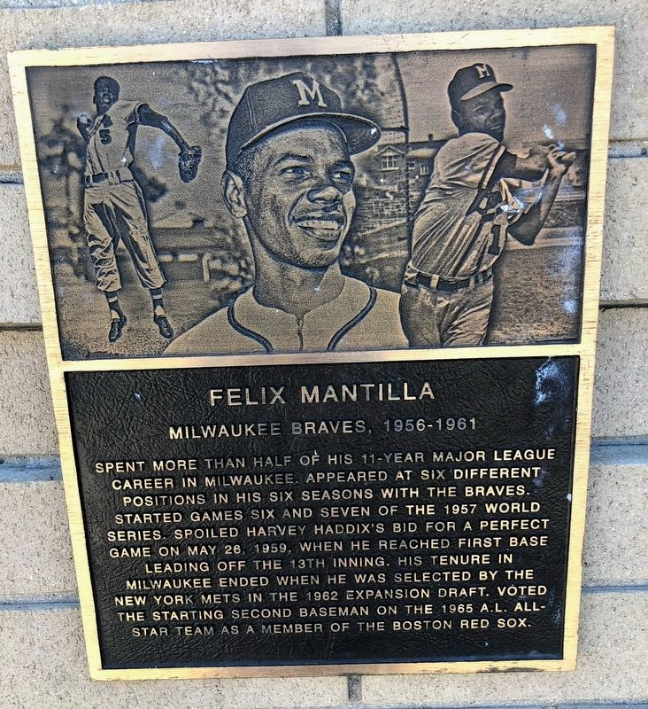 Felix Mantilla Marker image. Click for full size.