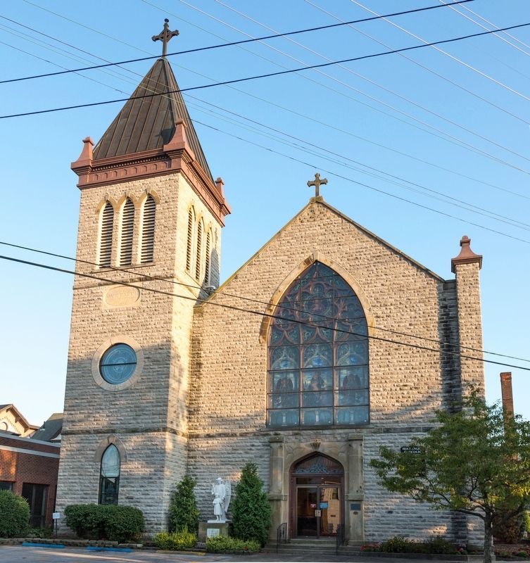 Holy Angels Catholic Church, Sandusky Ohio image. Click for full size.