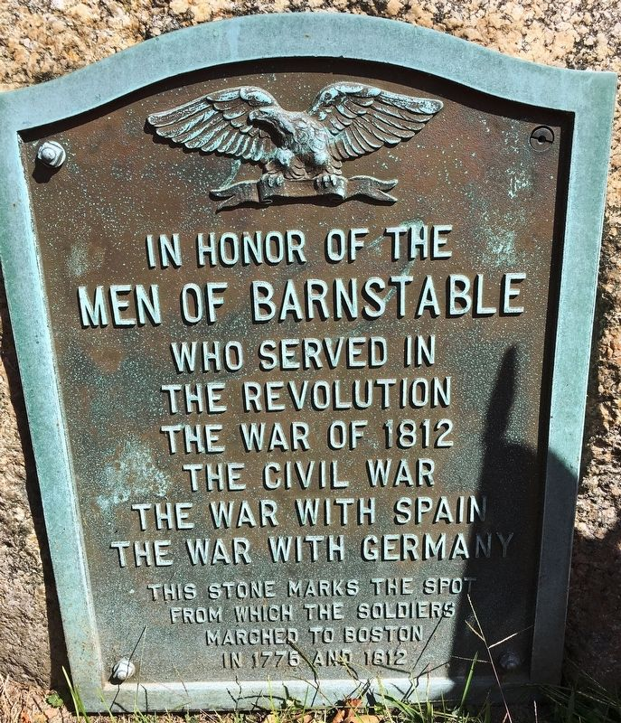 Men Of Barnstable Marker image. Click for full size.