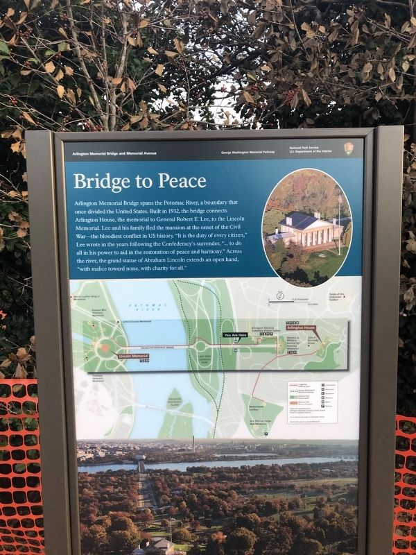 Bridge to Peace Marker image. Click for full size.